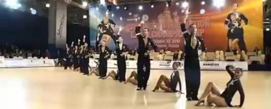 俄罗斯世界拉丁舞冠军表演