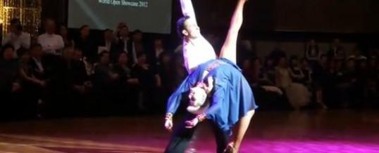Michael and Joanna – 2012年伦巴表演