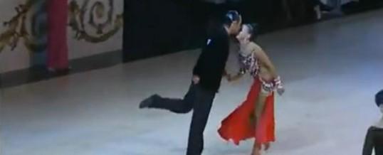 2012黑池职业拉丁舞 恰恰