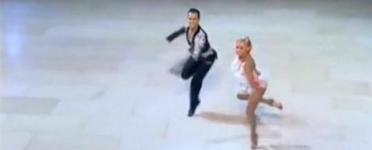 2012 黑池业余拉丁舞决赛 牛仔