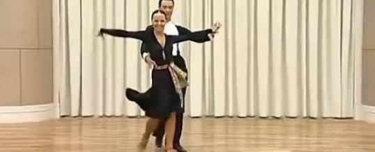 Sergey Surkov & Melia 桑巴基础教学