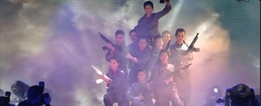 2013年会舞蹈:《战》